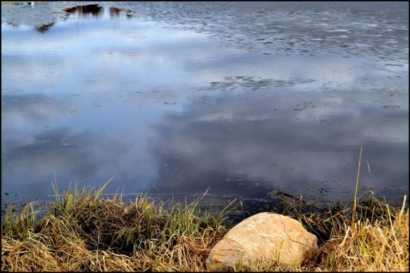 Lammen pinnalla vielä jääriitettä